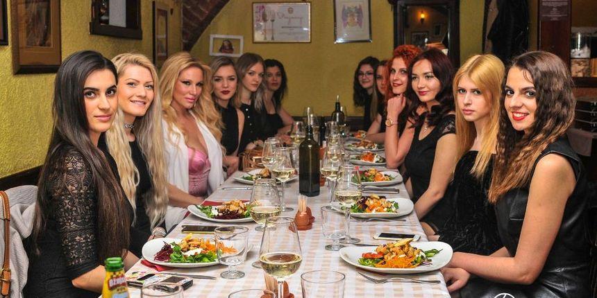 MISS SUPRANATIONAL Kandidatkinje na zajedničkoj večeri u restoranu Angelus