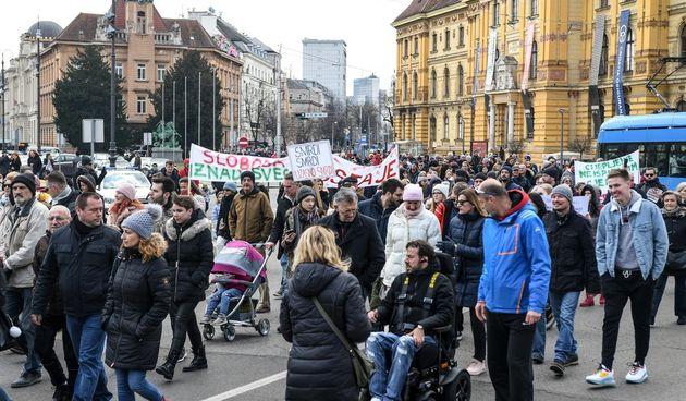 Antikorona prosvjed