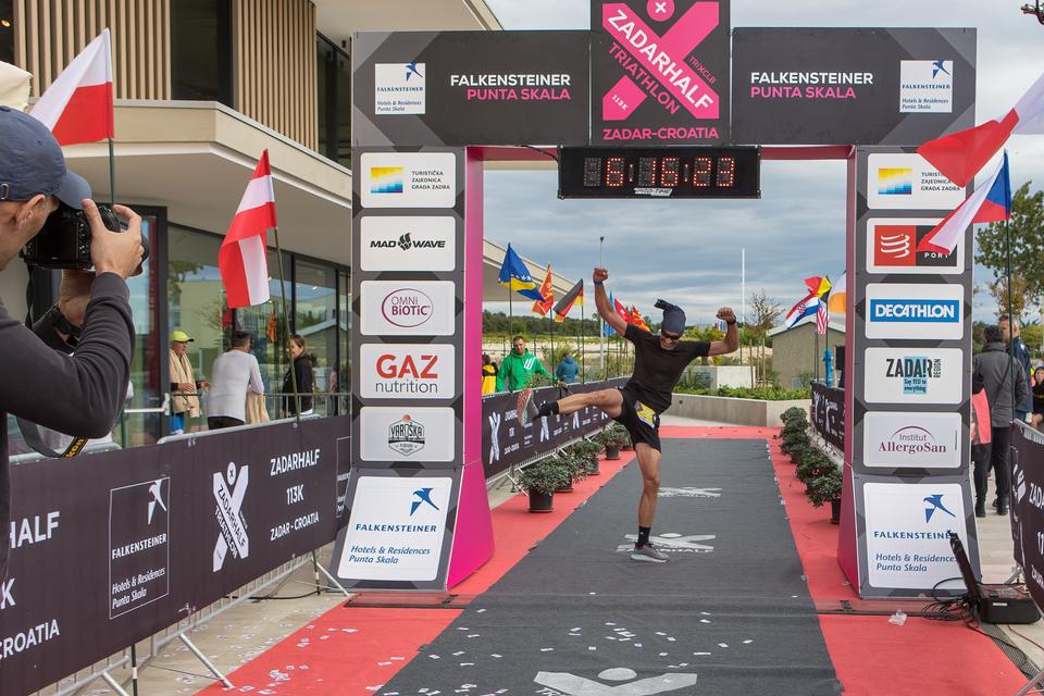 8. Zadarhalf triathlon
