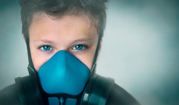 Onečišćenje iz zraka i mjesta katastrofa