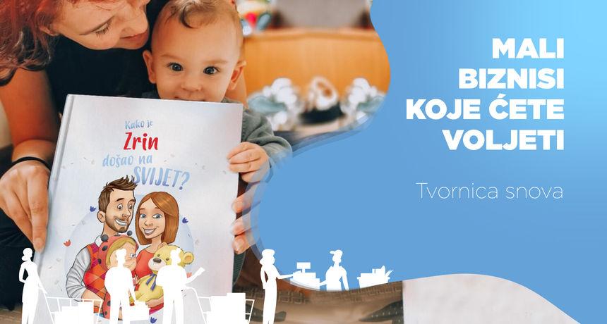 Personalizirane knjige za djecu su hit! Od ideje kreativnog dvojca razvila se izdavačka kuća koja posluje i vani