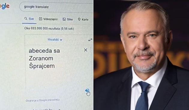 VIDEO Podržavaju ga i TikTokeri: 'Abeceda sa Zoranom Šprajcem' samo je jedan od genijalnih izazova