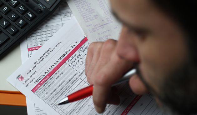 Porez, Prijava poreza