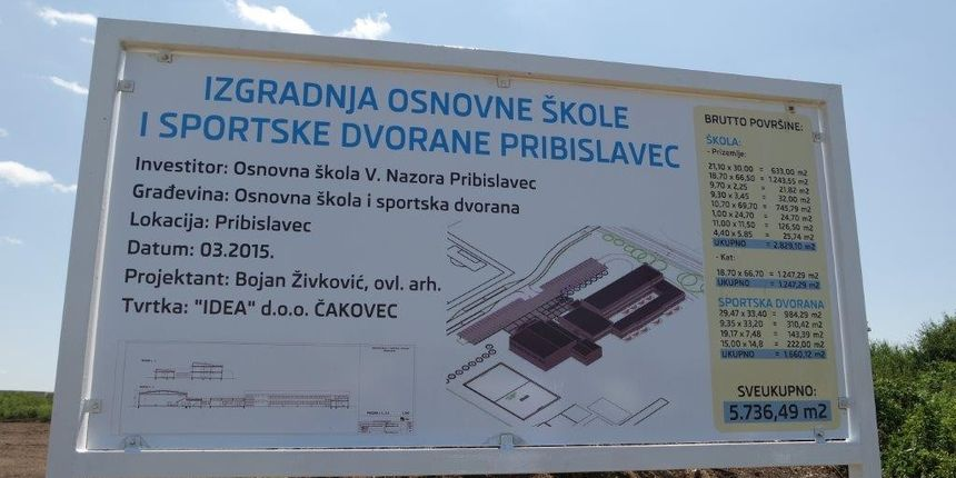 REDEA našla nove financijske mehanizme za izgradnju škole u Pribislavcu