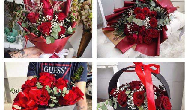 Valentinovo u cvjećarnici Florista