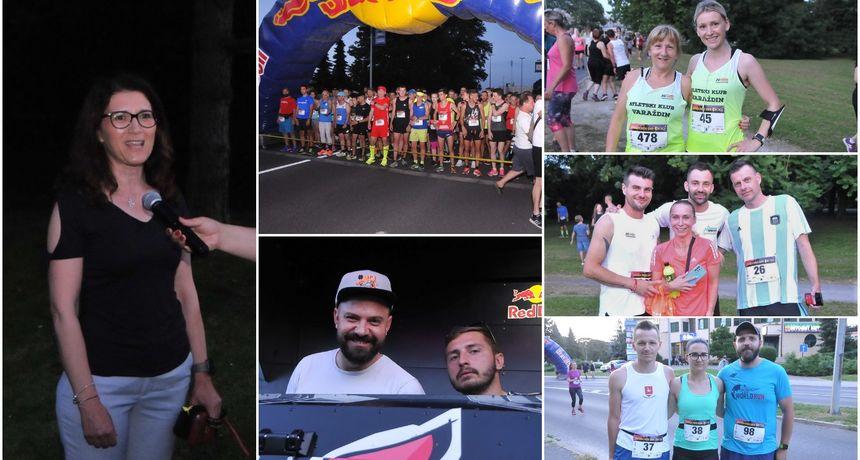 VIDEO I FOTO Na Čakovečkom noćnom ceneru više od 580 trkača utrčalo u ljeto