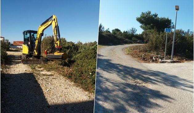 Raščišćeni putevi u Ždrelcu i Banju