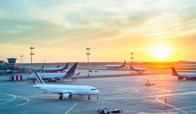 Aerodrom, zrakoplov
