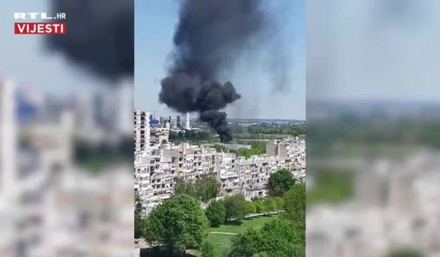 Požar u Novom Zagrebu  (thumbnail)