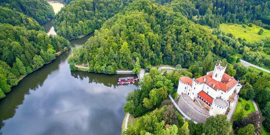 LJEPOTAN Trakošćan među 12 najljepših europskih dvoraca, uz bok Neuschwansteinu!