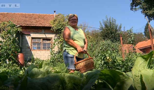 Ljubica: 'U svom vrtu uzgajam i ljutu papriku za kolinje i domaću kobasicu'