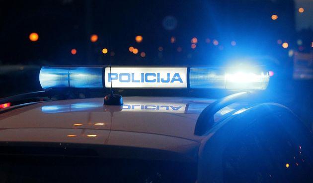 Policijske sirene u noći