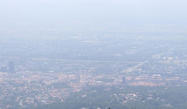 Magla u Zagrebu zbog sparine