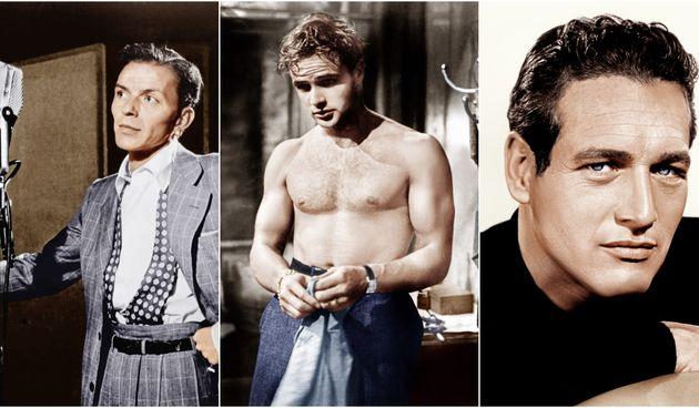 Frank Sinatra, Marlon Brando i Paul Newman