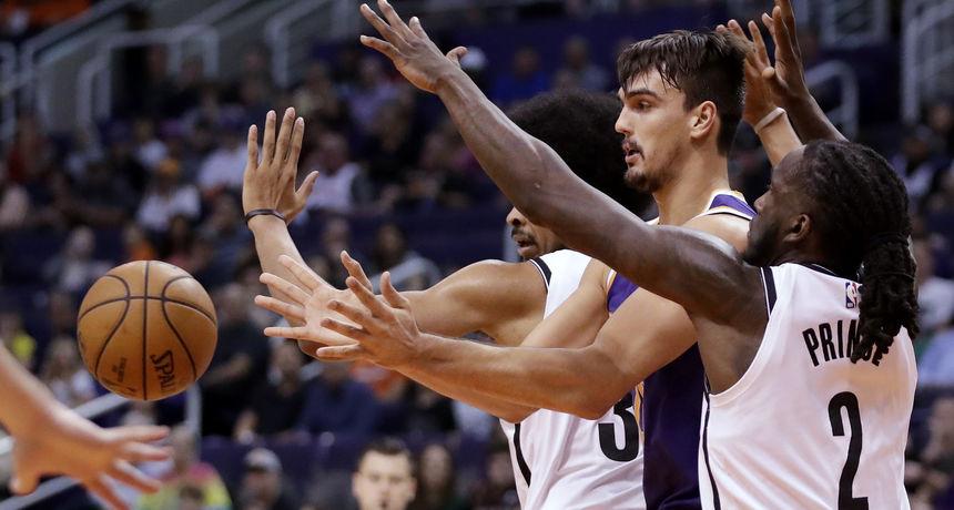Phoenix Sunsi upisali šestu pobjedu, Dario Šarić za 26 minuta zabio 12 poena