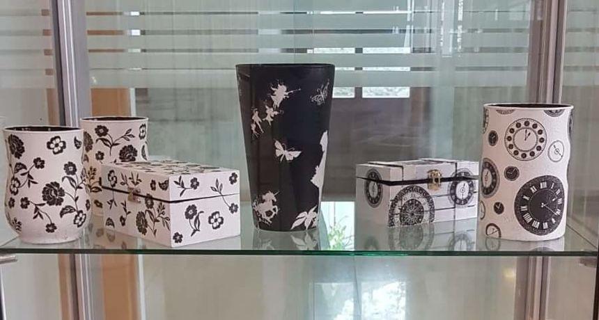 Suzana Petani - zadarska majstorica za unikatne teglice za cvijeće, vaze i