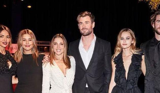 Liam, Chris Hemsworth, Gabriella Brooks