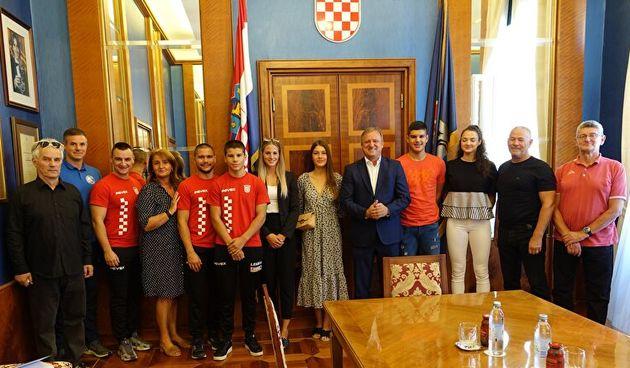 Dukić i Jurinić primili trofejne zadarske sportaše