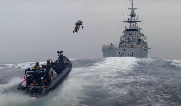 Britanska kraljevska mornarica testira jetpackove