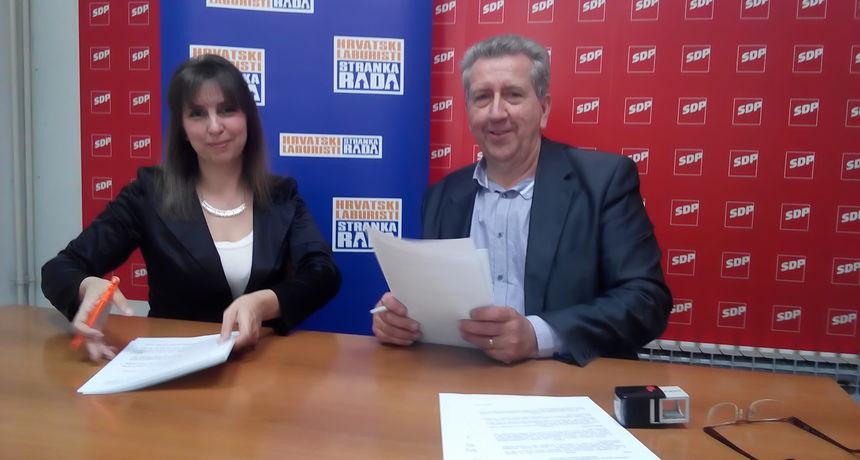 SDP i Laburisti na izbore sa zajedničkom listom - Kirinić