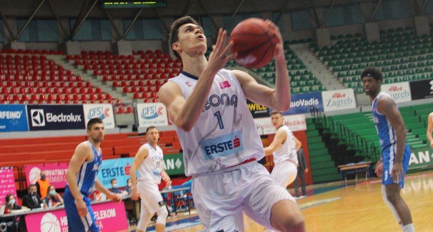 CIBONA Mladi Vujović debitirao s deset poena za 'vukove': Ovo je bilo ostvarenje sna!