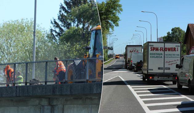 POZOR! Gužve na dravskom mostu danas će biti velike, radovi će trajati sve do sredine lipnja