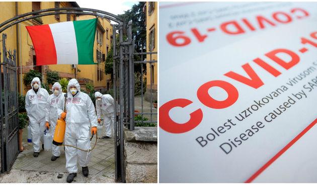 Italija, koronavirus