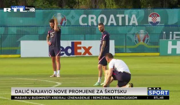 Promjene u sastavu pred Škotsku: Brozović se vraća, Rebić potrošio kredite u špici (thumbnail)