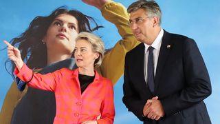 Ursula von der Leyen stigla je u Zagreb: Stižu milijarde eura! Komisija odobrila hrvatski nacionalni plan oporavka