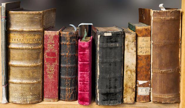 kako očistiti knjige