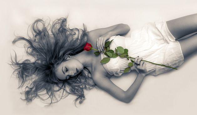 Ljubav, horoskop, žena, fantasy, mistika, nebo, oblaci, meditacija, makeup, moda, kosa