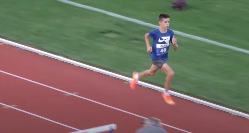 Matko Belčić pobjednik Kupa Hrvatske u atletici za kadete u utrci na 1500 metara sa zaprekama, Rakamarić četvrta