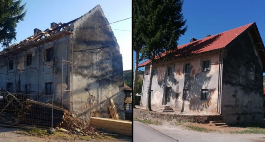 Općina Tounj europskim sredstvima obnovila krovište Društvenog doma, načelnik Sopek najavio daljnje uređenje okoliša i fasade zgrade