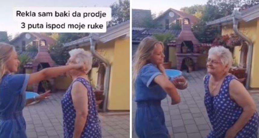 Ova Hrvatica na TikToku napravila je izazov s bakom, pa oduševila sve: 'Best dance moves'