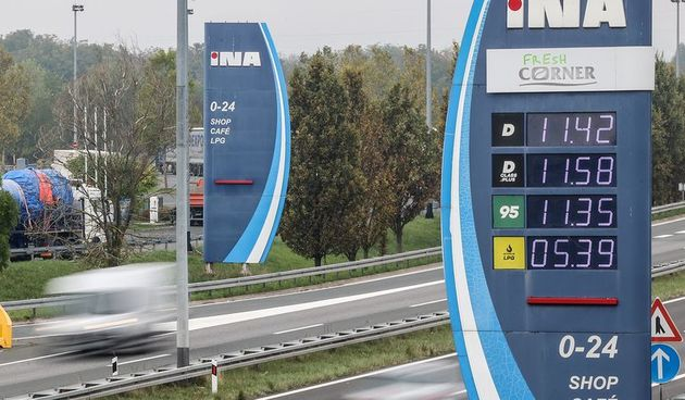 INA će Premium goriva prodavati do isteka zaliha: Neisplativa su zbog nove odluke o zamrzavanju cijena