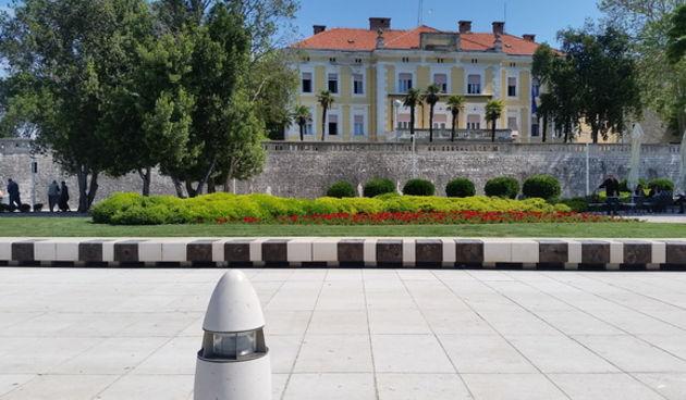 Dom županije, Zadarska županija. Đir najlipšom rivom i Poluotokom 6. svibnja 2016.  Foto. Mladen Malik