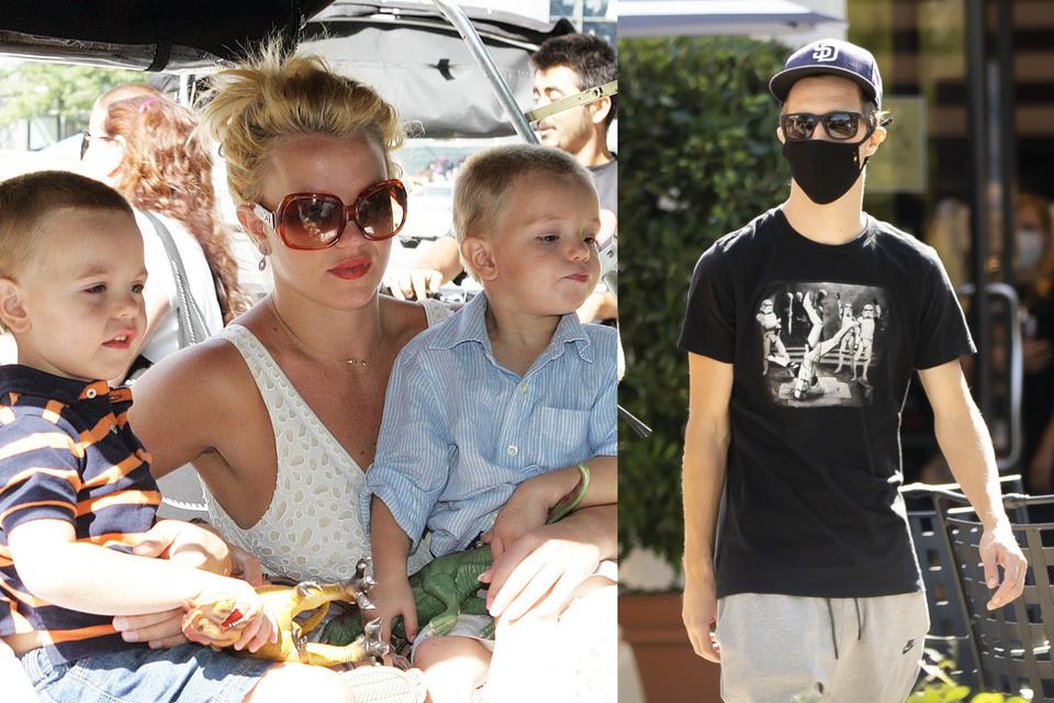 Britney Spears s djecom