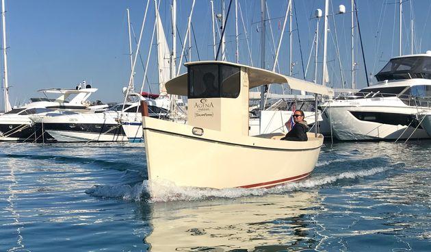 Predstavljena inovativna samoodrživa brodica SolarFerry biogradskog brodograditelja Agene Marin