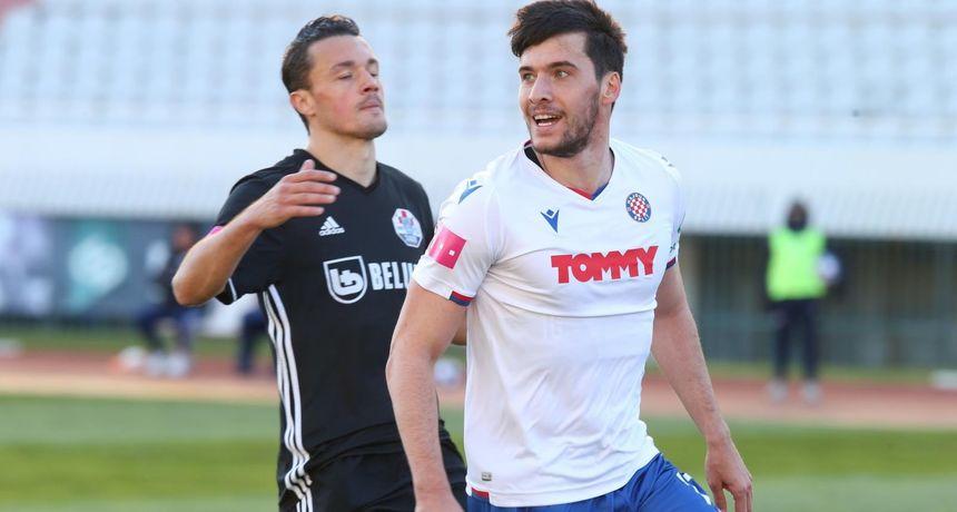 Hajduk duboko u sudačkoj nadoknadi iščupao bod protiv Slavena na Poljudu