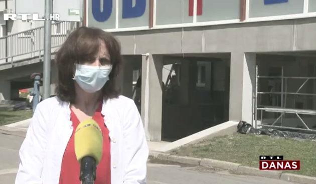Varaždinska bolnica jedna od pogođenijih u Hrvatskoj: Odgađaju se operacije, veliki broj pacijenata na respiratoru