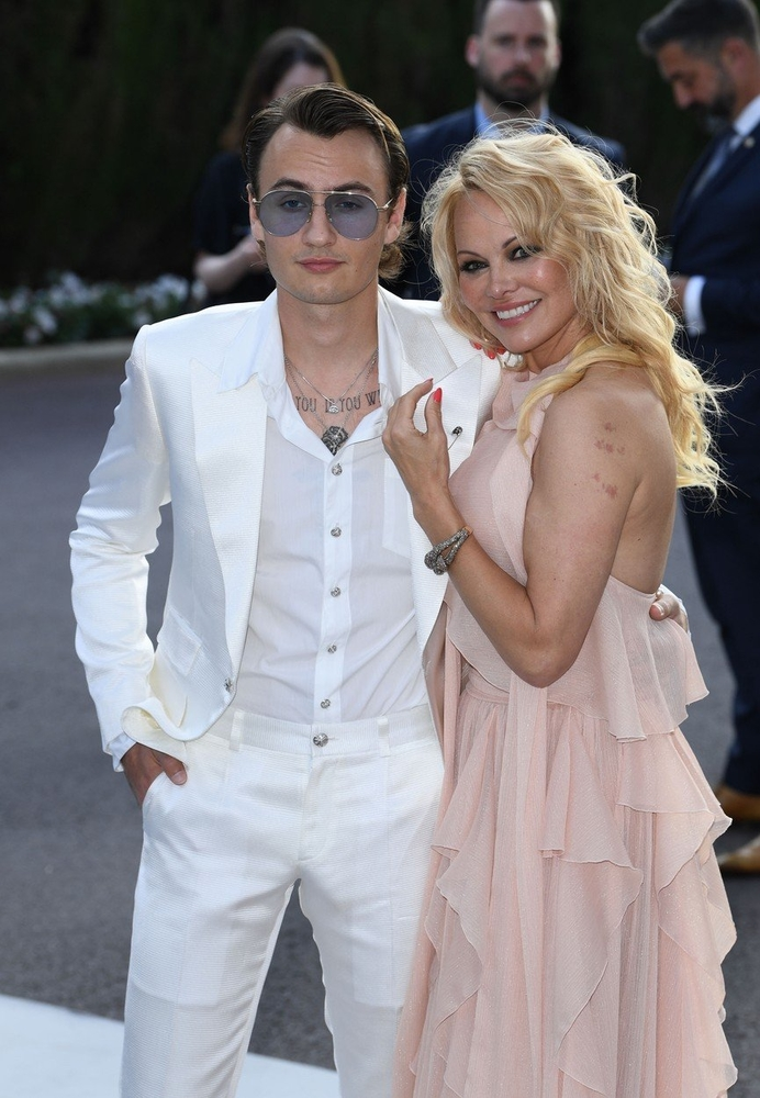 Pamela Anderson i Brandon Lee