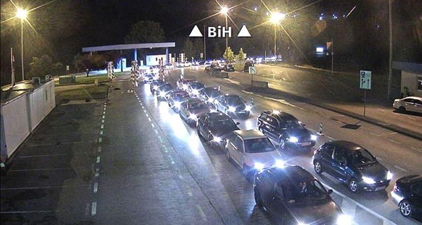 Granični prijelaz Maljevac prometno