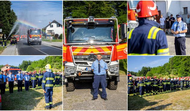 Velik dan za štrigovske vatrogasce: 'Ovime se u DVD-u Štrigova piše povijest'