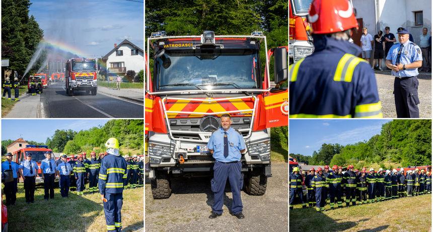 FOTO Velik dan za štrigovske vatrogasce: 'Ovime se u DVD-u Štrigova piše povijest'
