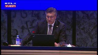 Premijer uvodno na sjednici Vlade: 'Moramo se pridržavati osnovnih mjera zaštite' (thumbnail)