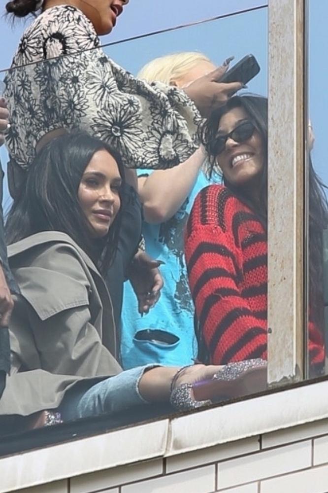 Kourtney Kardashian i Megan Fox