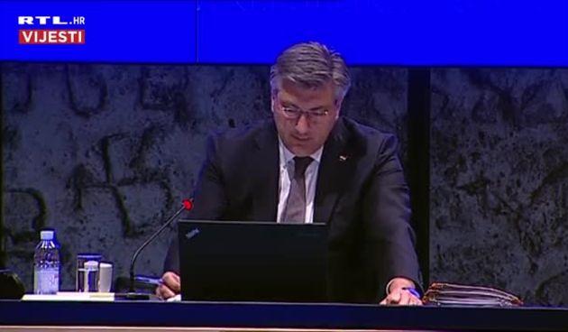 Plenković uvodno na sjednici Vlade: