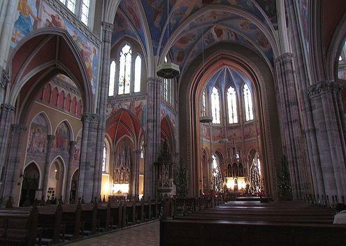 osijek-kontkatedrala-unutrasnjost